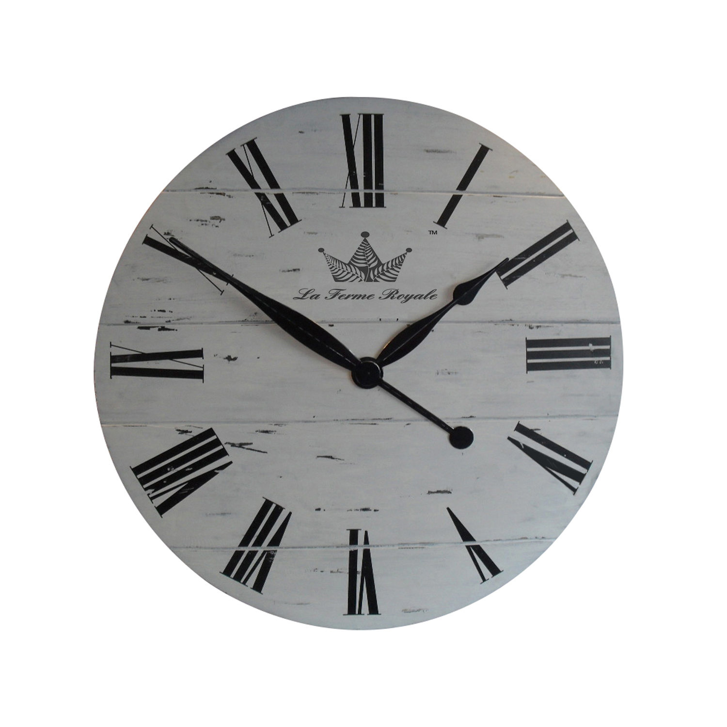 La Ferme Royale wall clock