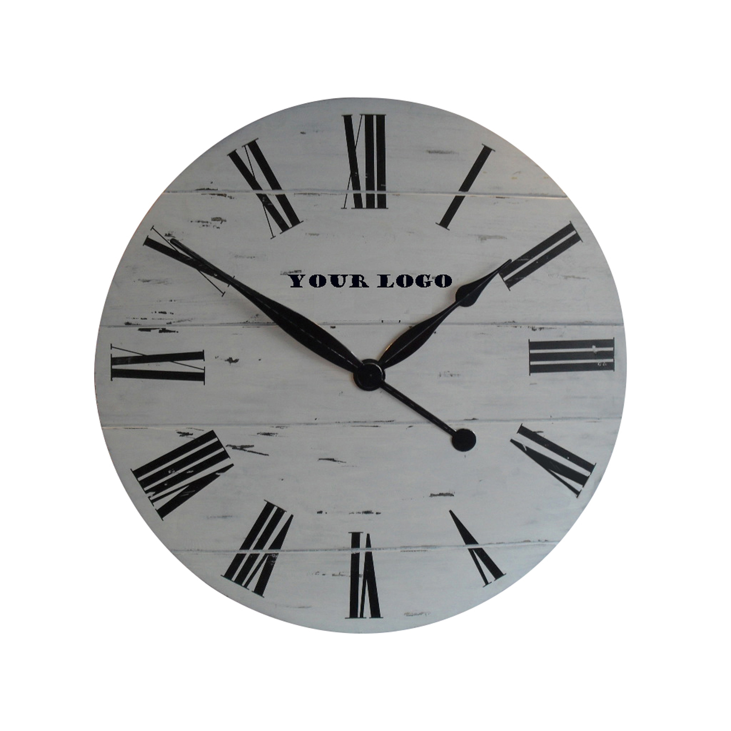 OEM brand 36 inches solid wood wall clock