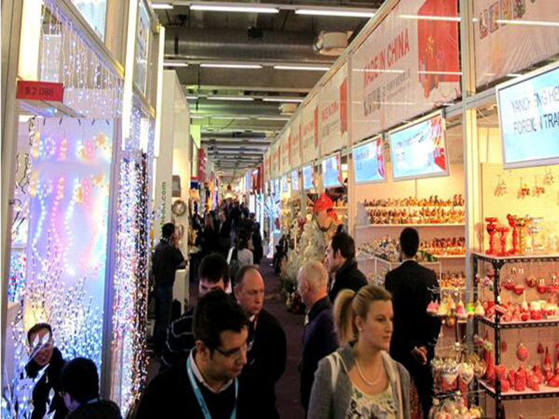 Xiamen D&F Co.,ltd. in Frankfurt Christmas Tradeshow